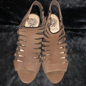 Vince Camuto leather shoes! A summer staple!